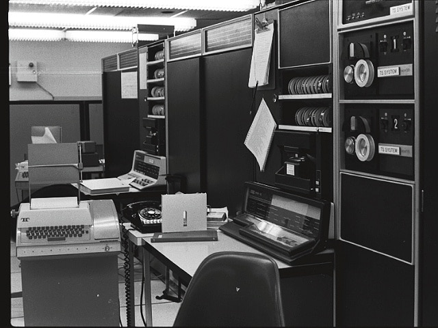 computadoras desde la que enviaron y recibieron el primer correo electronico